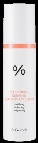 Эмульсия для проблемной кожи Dr Ceuracle 5 Control Cleansing Serum in Emulsion