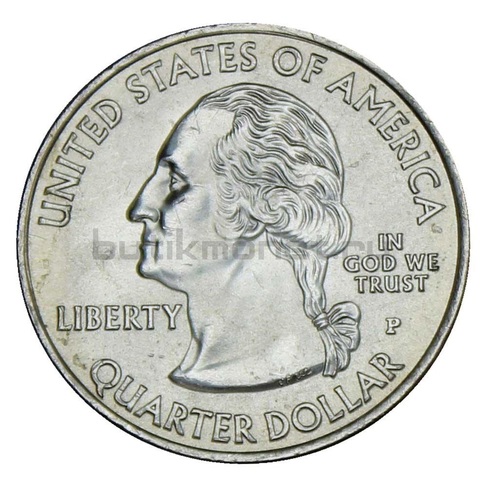 25 центов 2009 США Американские Виргинские острова P (Штаты и территории США)