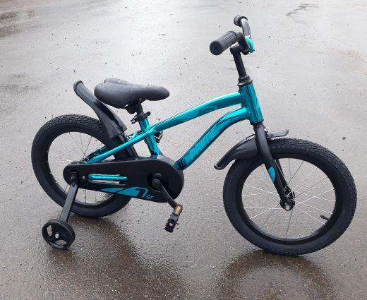 Велосипед Novatrack Prime 16 Синий металлик