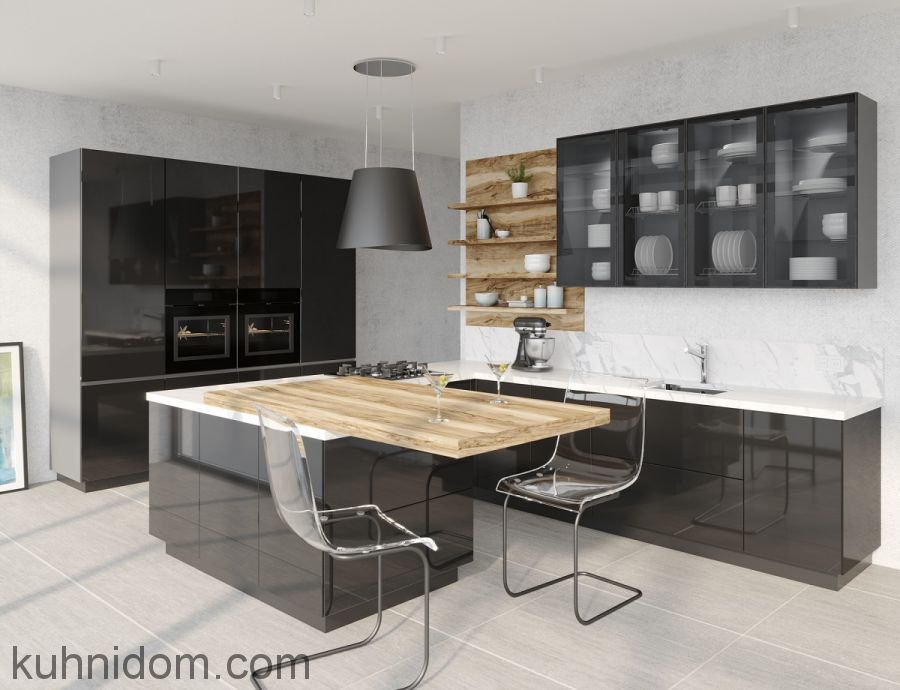 Кухня Weissglas
