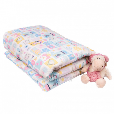 Одеяло перкаль 110х140