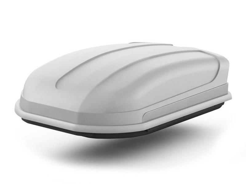 Автомобильный бокс на крышу Pragmatic EURO, 410 литров, серый матовый