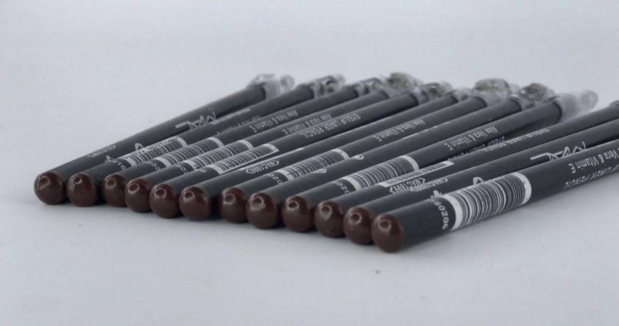 Набор карандашей MAC с точилкой(коричневый)