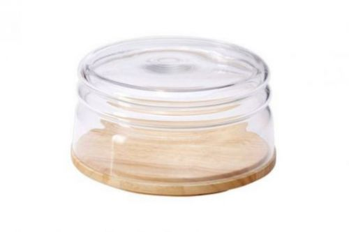 Емкость для сыра/миска для салата Continenta, каучуковое дерево 013.040701.042