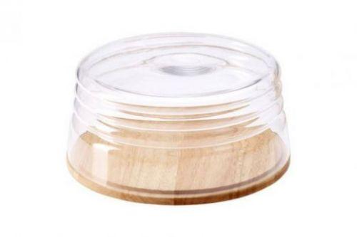 Емкость для сыра/миска для салата Continenta, каучуковое дерево 013.040701.043