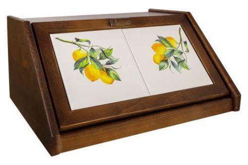 Хлебница Лимоны в инд.упаковке JV3-994-30031