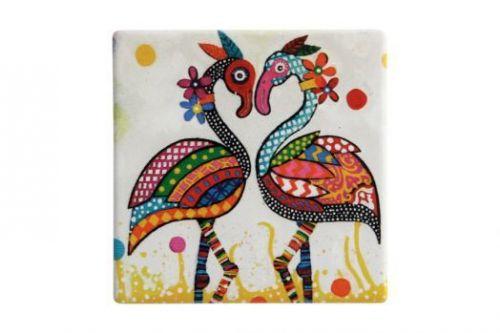 Подставка керамическая Фламинго без инд.упаковки MW887-DU0027