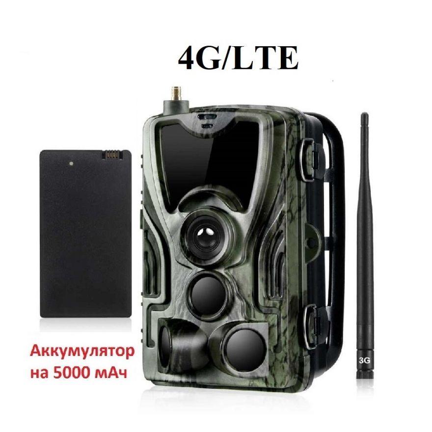 Фотоловушка Филин 200 PRO 4G LTE с литиевым аккумулятором 5000 мАч (HC-801LTE Li-ion)