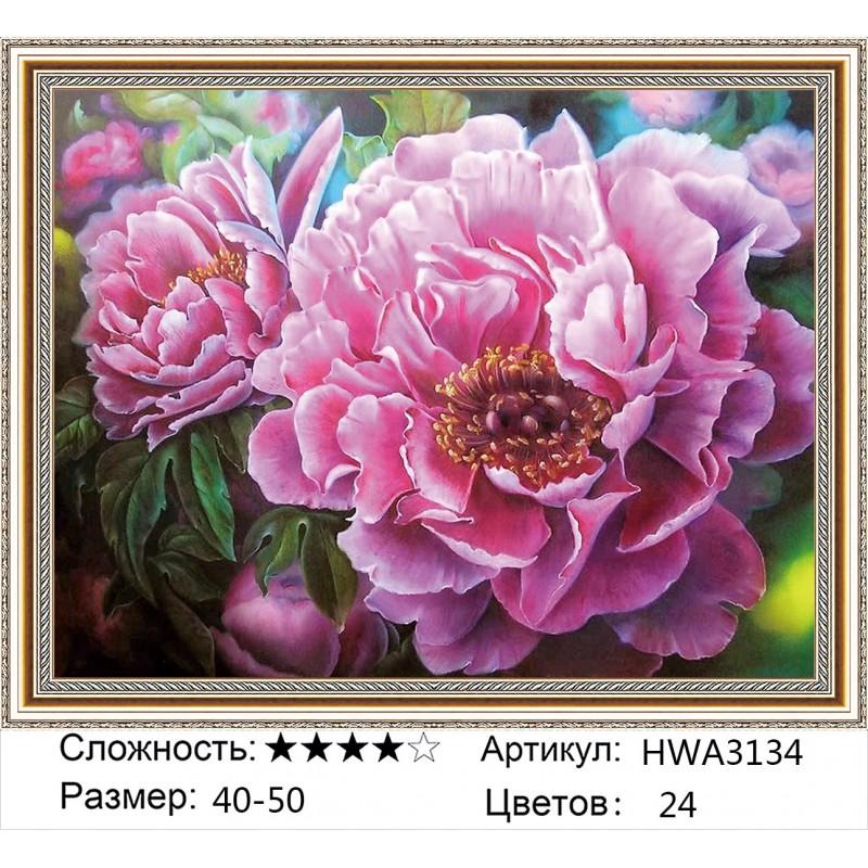 Алмазная мозаика на подрамнике HWA3134