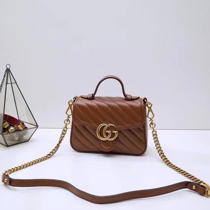 Gucci Marmont GG 20x15x8 cm