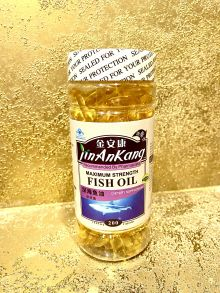 Fish oil maximum strength 200 кап,Омега-3: DHA и EPA.Китай