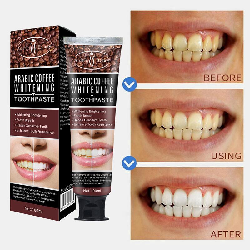 Отбеливающая зубная паста ARABIC COFFEE WHITENING (1150)