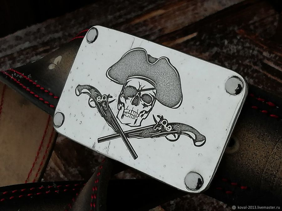 """Ремень  """"Jolly Roger"""""""