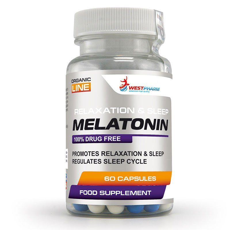 Melatonin 10 мг 60 капс WestPharm