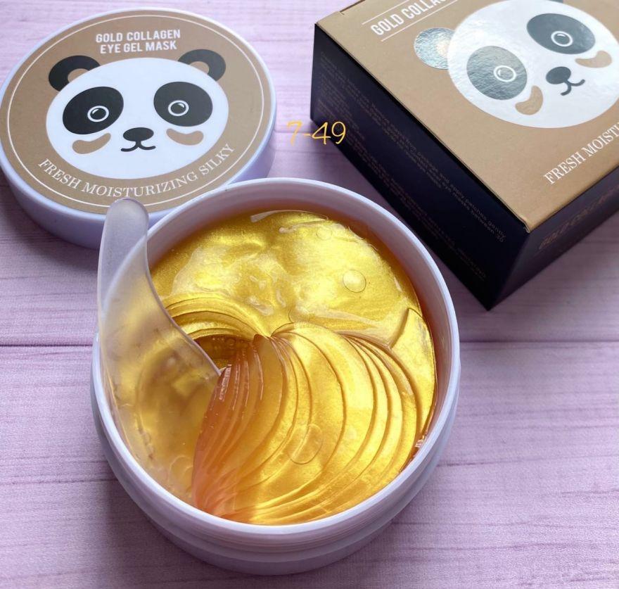 Гидрогелевые патчи для эластичности и упругости Gold Collagen eye mask