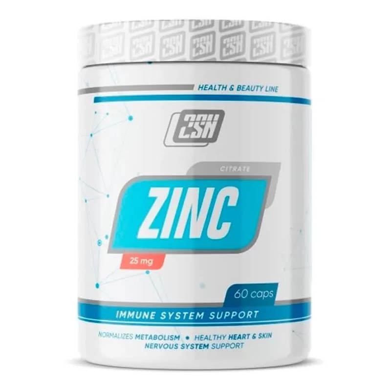 2SN Zinc Citrate 25мг, 60 капсул