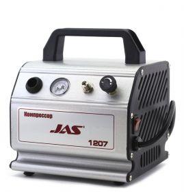 Компрессор Jas 1207, с регулятором давления, автоматика, ресивер 0,3 л