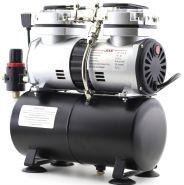 Компрессор Jas 1206, с регулятором давления, автоматика, два режима работы, ресивер, два цилиндра