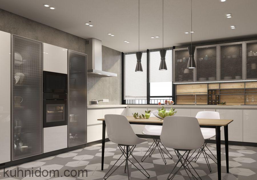 Кухня Gloss анодированный