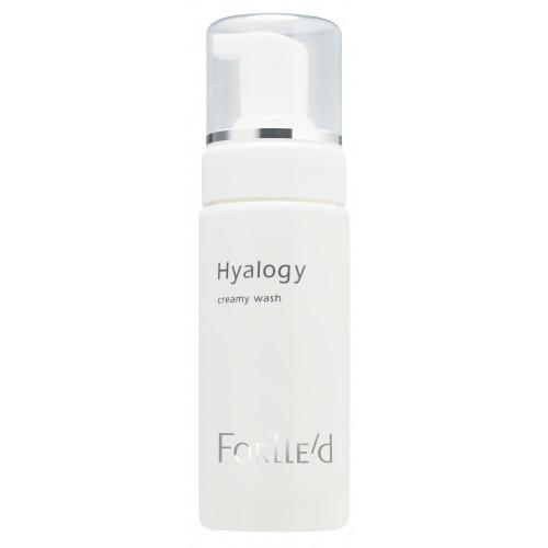 Очищающий мусс для чувствительной кожи Hyalogy Creamy Wash