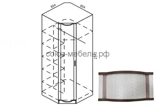 Симона Шкаф угловой Ш-УГ