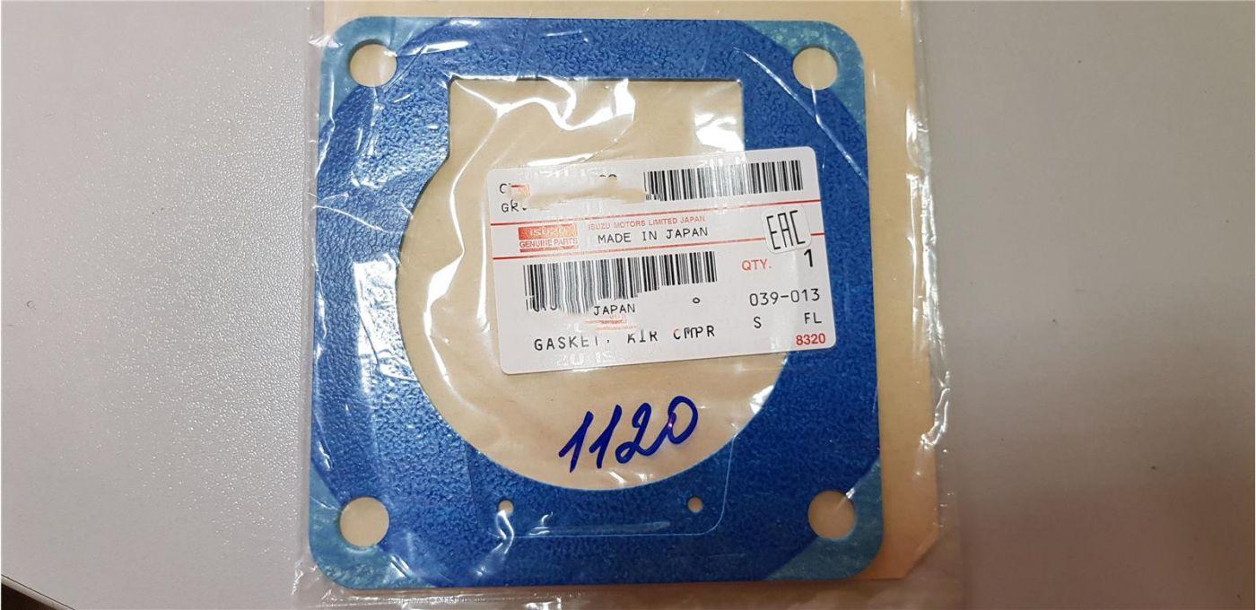 Прокладка цилиндра пневмокомпрессора верхняя (тип B) 4HK1 Isuzu NQR90 FSR90