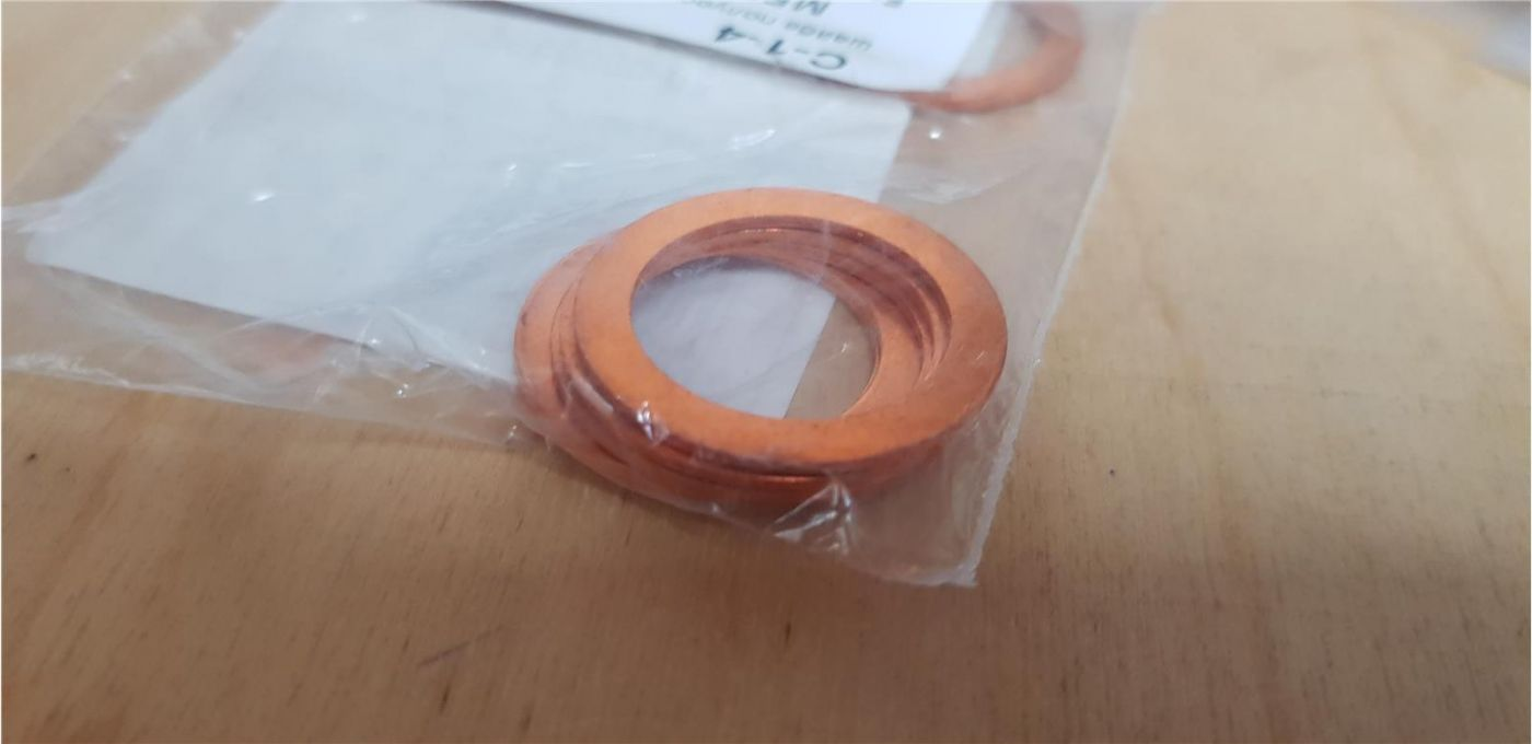 Прокладка кольцо сливной пробки редуктора заднего моста Mitsubishi Fuso Canter