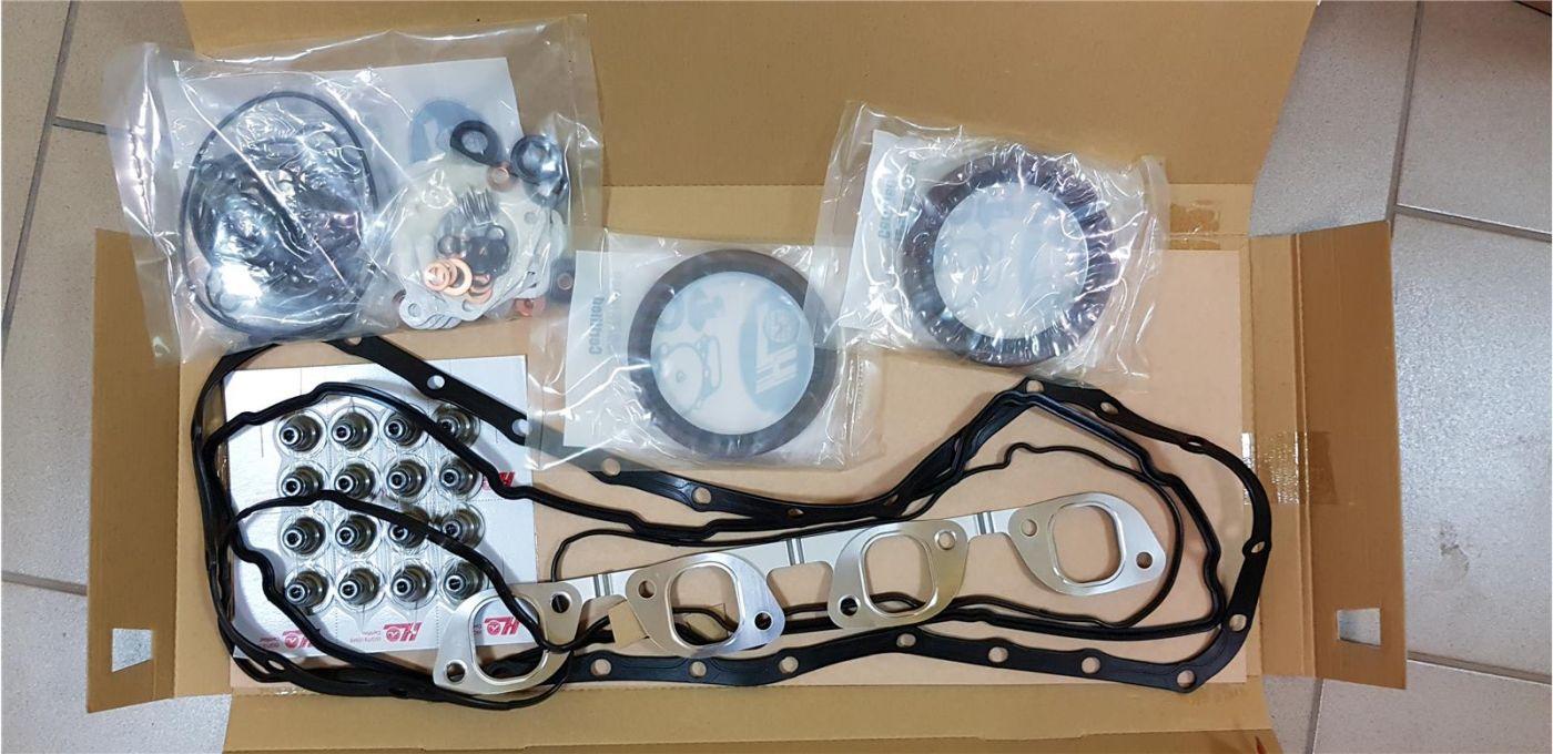 Комплект прокладок ДВС (полный) стандарт двигатель 4HK1 для Isuzu NQR75 NPR75