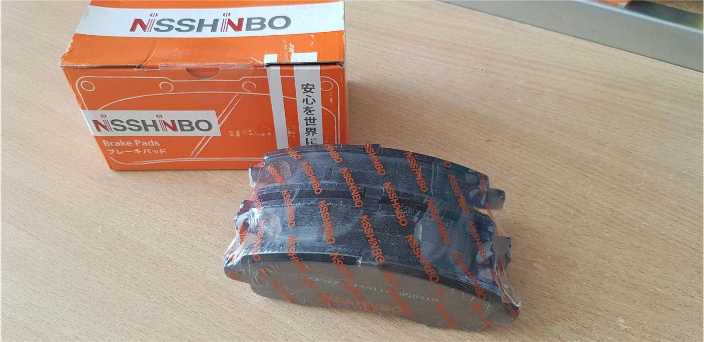 Колодки дисковые задние Mitsubishi Fuso Canter FB83 ЕВРОПА