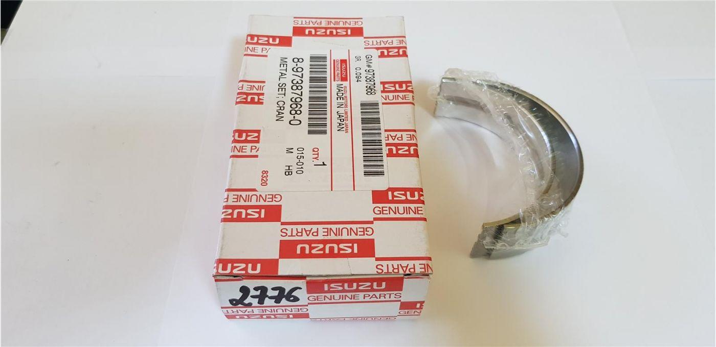 Вкладыши коренные (GRADE 5) стандартные 2шт. (комплект на шейку 1,2,4,5 ) 4JJ1 Isuzu/HITACHI
