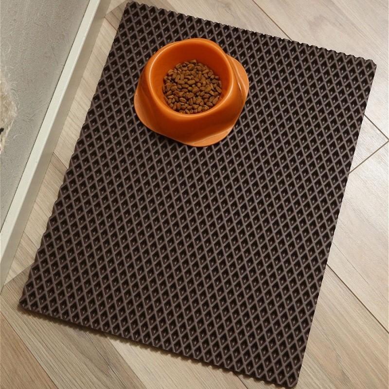 Коврик для кошачьего туалета чистый пол, Размер 65х70 см
