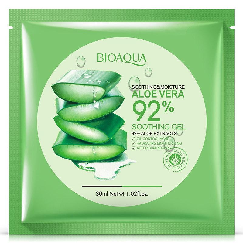 Увлажняющая маска для лица Bioaqua c гиалуроновой кислотой и Алоэ Вера Aloe Vera 92% Mask