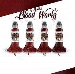 World Famous Ink BIG JOEL'S BLOOD WORKS SET 1oz