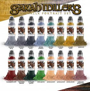 World Famous Ink SARAH MILLER VALHALLA SET 1 oz