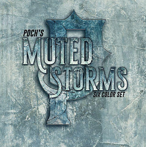 World Famous Ink POCH MUTED STORM SET (1 oz)