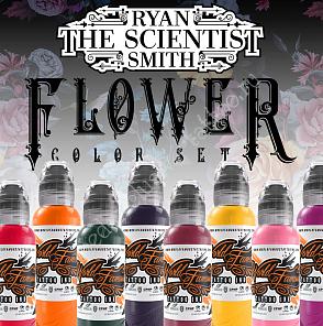 World Famous Ink RYAN SMITH - FLOWER SET - 8шт 1oz