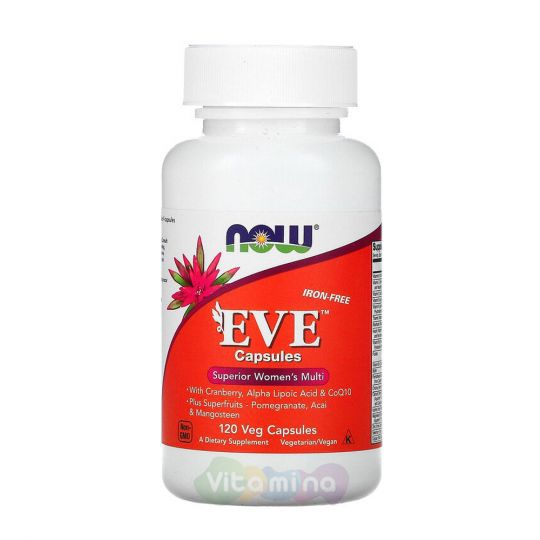 Now Foods Eve (Ева), 120 капсул