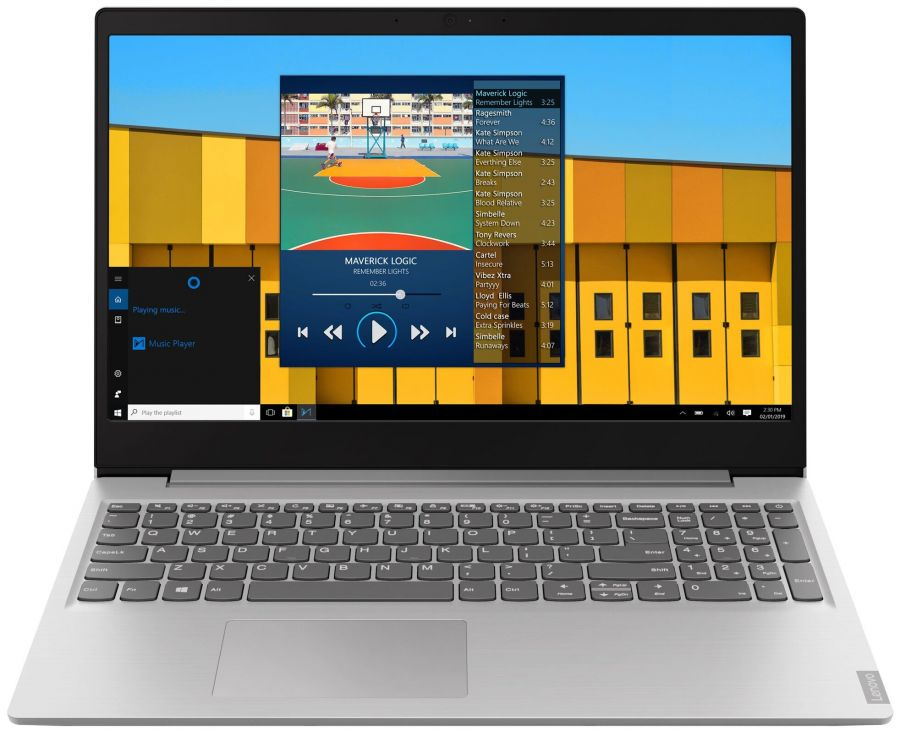 Ноутбук Lenovo IdeaPad S145-15 Серый (81W8001JRU)