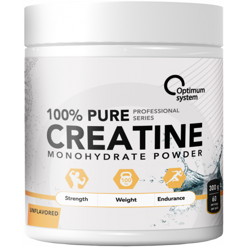 Optimum System Pure Creatine 300гр 60 порций