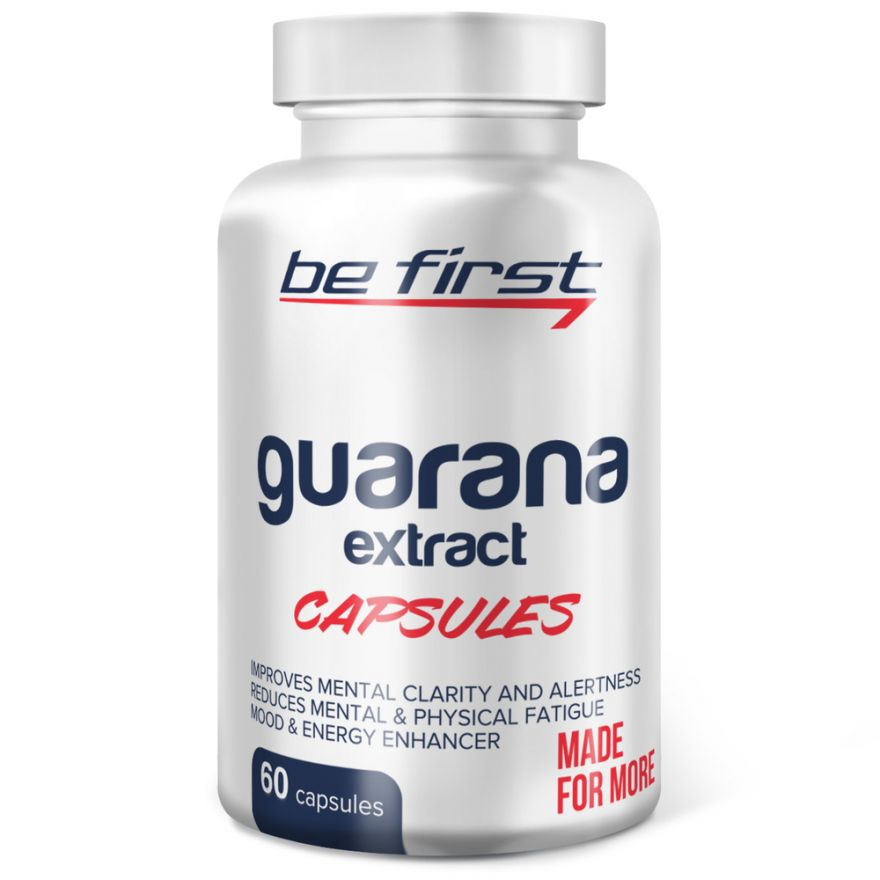 Guarana Extract BeFirst (экстракт гуараны) 60 капсул