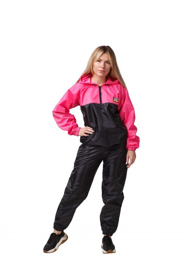 Костюм-сауна SPR Premium (Черный-Розовый)