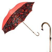 Зонт-трость Pasotti Coral Papavero Oro