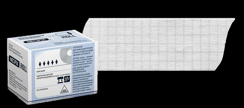 NEOFIX Roll пластырь фиксирующий нестерильный на нетканой основе 10 см x 1000 см