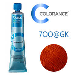 Goldwell Colorance 7OO@GK - Тонирующая крем-краска Рыжий с медным сиянием 60 мл