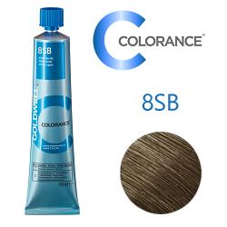 Goldwell Colorance 8SB - Тонирующая крем-краска Cеребристый блондин 60 мл