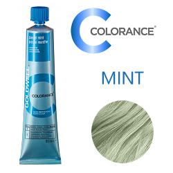 Goldwell Colorance PASTEL MINT - Пастель Мята Тонирующая крем-краска 60 мл