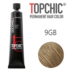 Goldwell Topchic 9GB - Стойкая краска для волос - Песочный светло-русый экстра 60 мл.