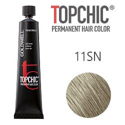 Goldwell Topchic 11SN - Стойкая краска для волос - Серебристо-натуральный блонд  60 мл.