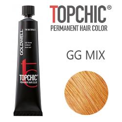 Goldwell Topchic GG-MIX - Стойкая краска для волос микс-тон золотистый 60 мл