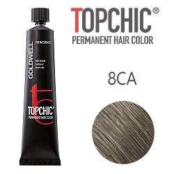 Goldwell Topchic 8CA - Стойкая краска для волос Холодный пепельный блонд 60 мл